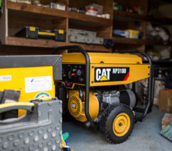 Caterpillar portable generators