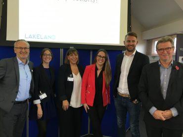 Positive spirits at Lakeland Forum