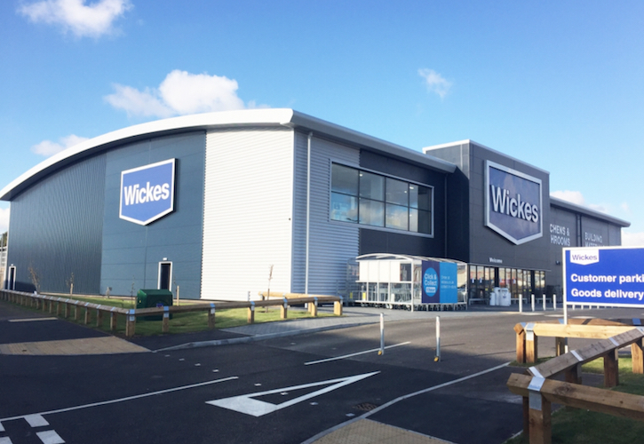 Wickes sales hit, as like for likes decline 4.4%