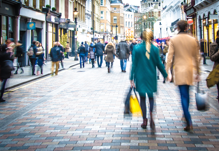 Retail footfall declines dramatically in February