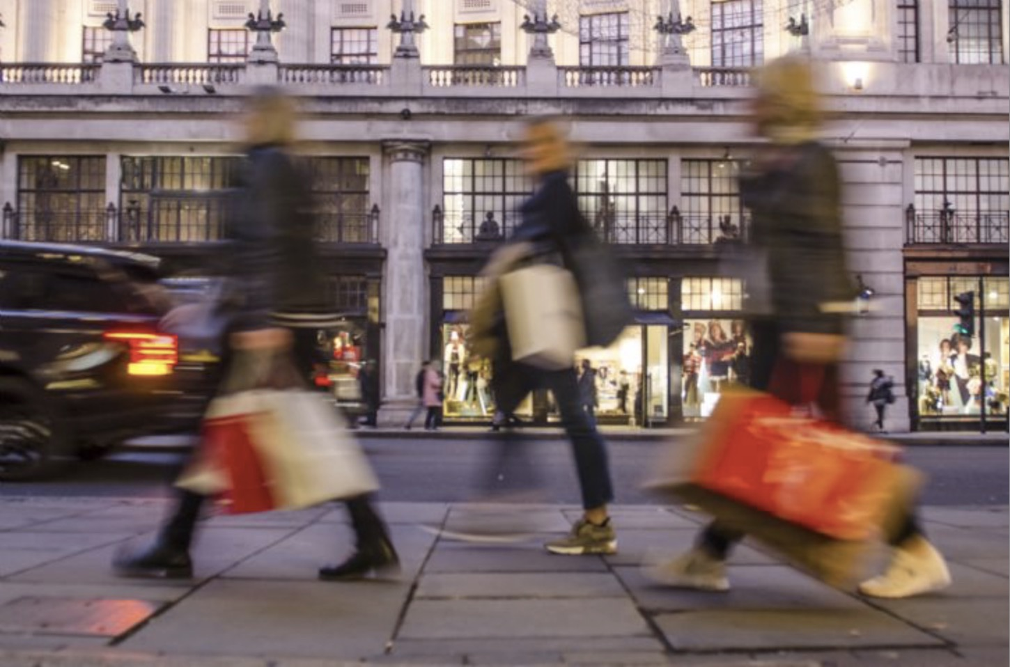 March footfall increases year on year, according to BRC/Springboard