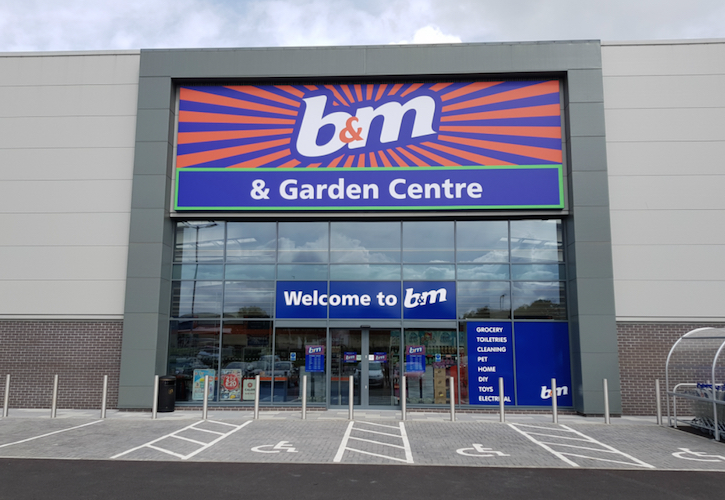 B&M Retail's results show 0.7% rise in UK LFL sales