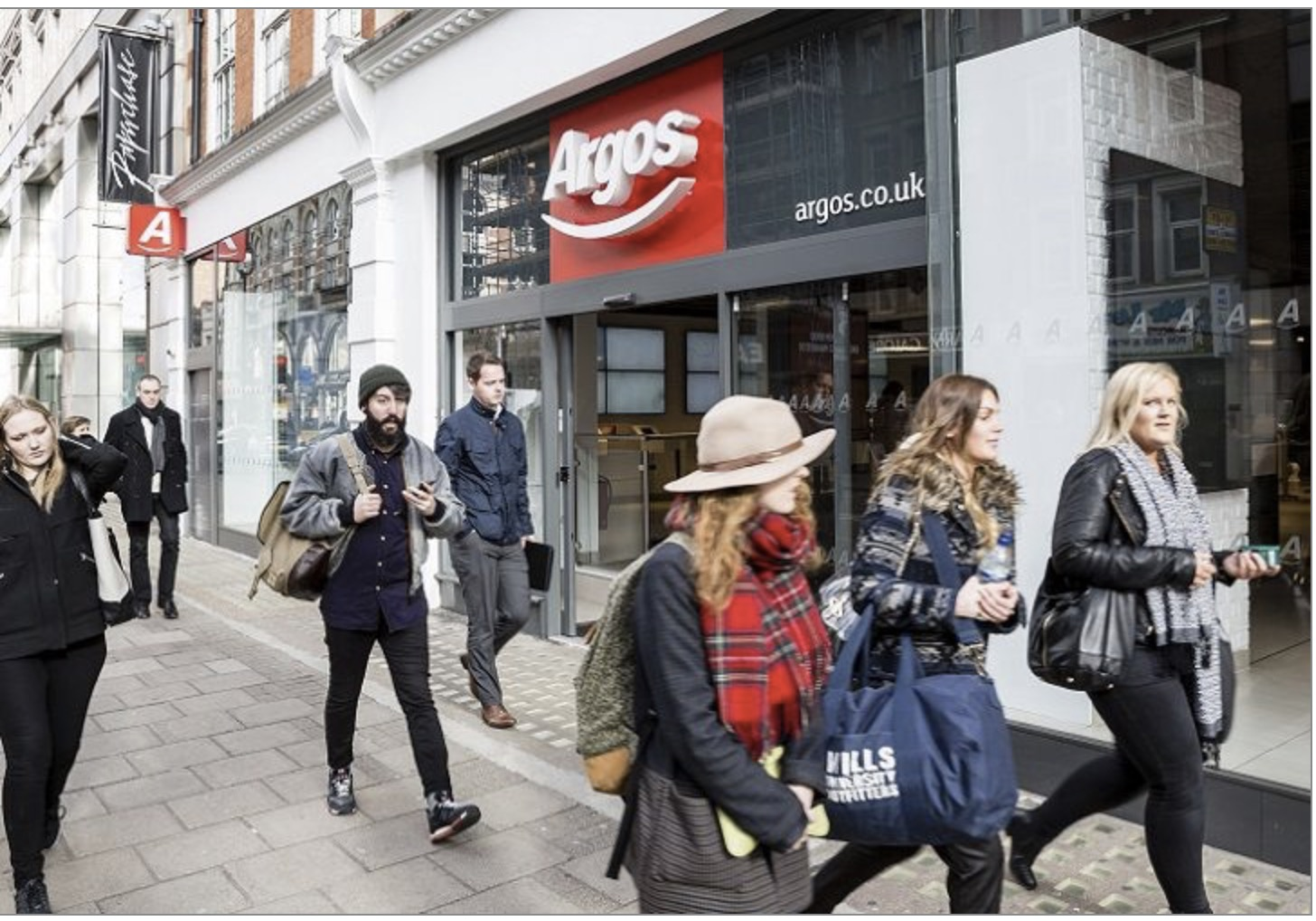 Argos opens first self-service digital store as Mobile sales hit £2bn