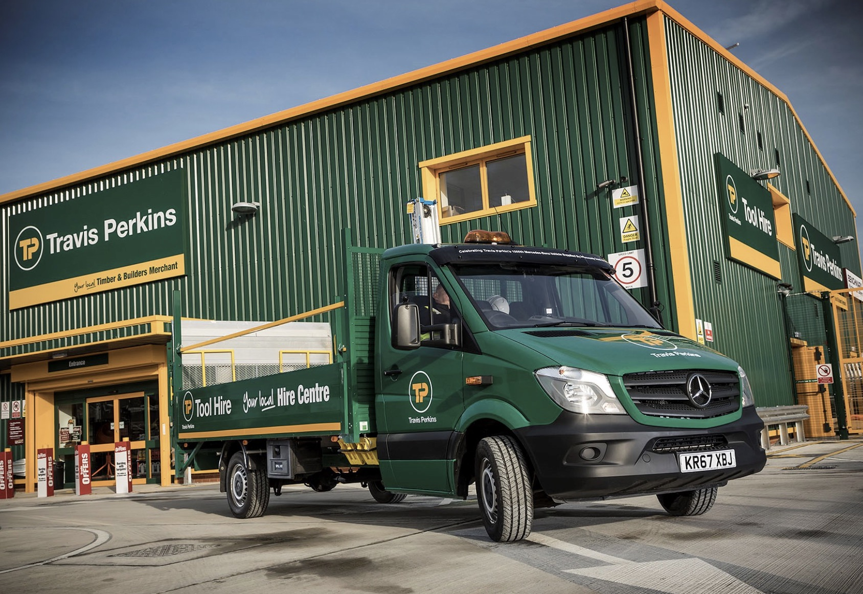 Travis Perkins delivers positive start to the year