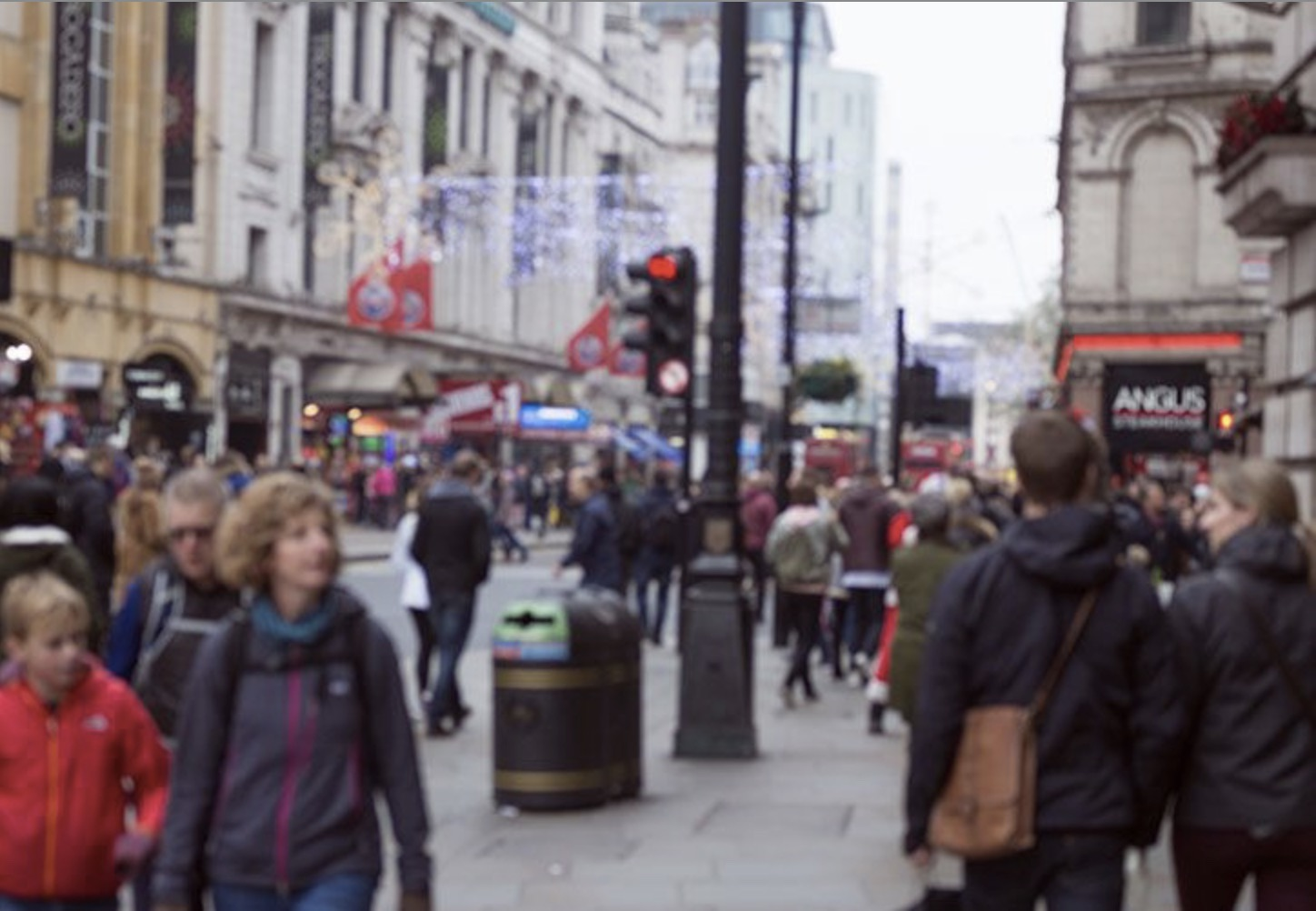 High Street feels the chill in April