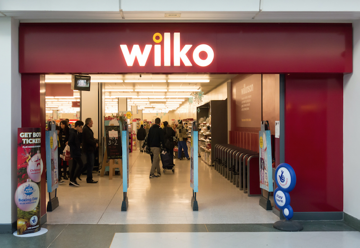 Wilko reports 6.1% like for like sales decline