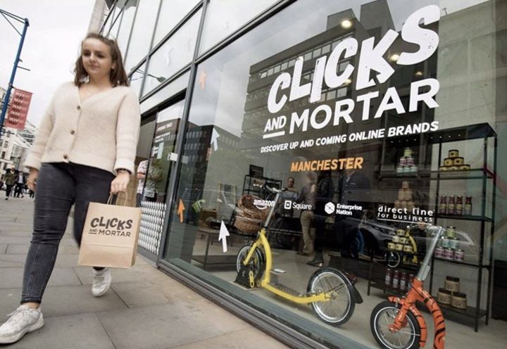 Amazon and Enterprise Nation to open 'Clicks and Mortar' pop-up
