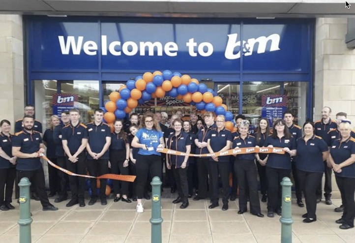 B&M opens six stores in three weeks