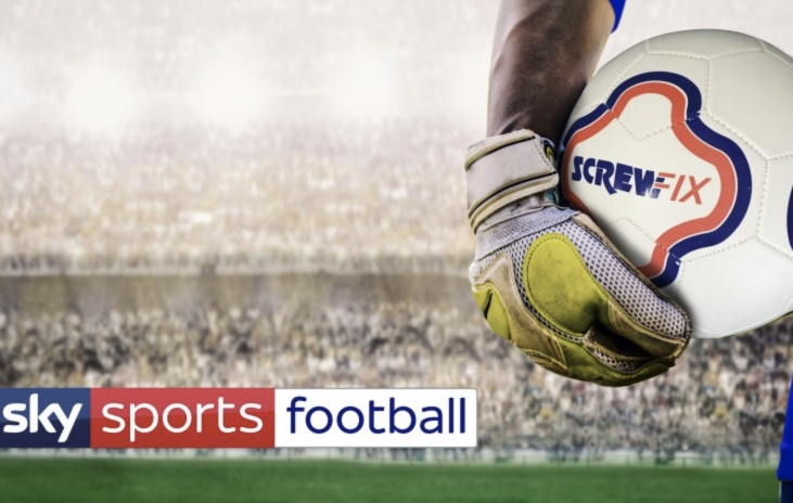 Screwfix Becomes First 'Official Partner of Sky Sports Football'