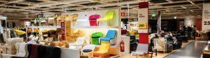 Ikea store inside