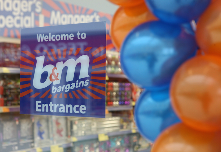 B&M's UK Turnover rises by 12.6% in year to 28th March 2020.