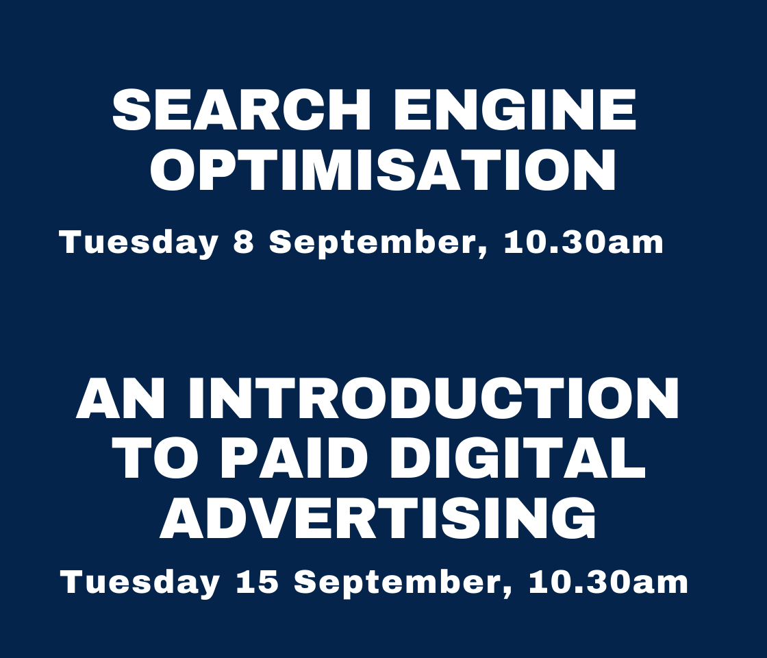 Two more digital marketing webinars dates published