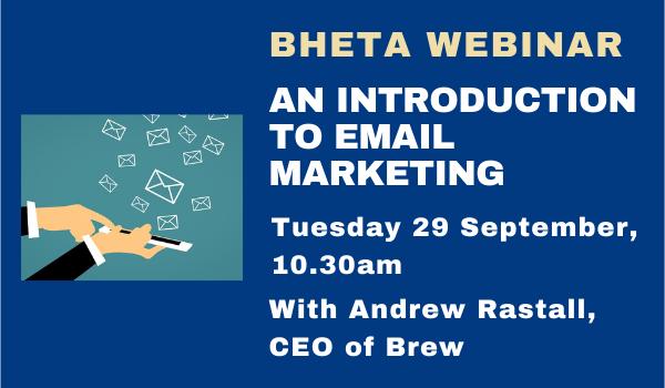 BHETA WEBINAR: Email marketing