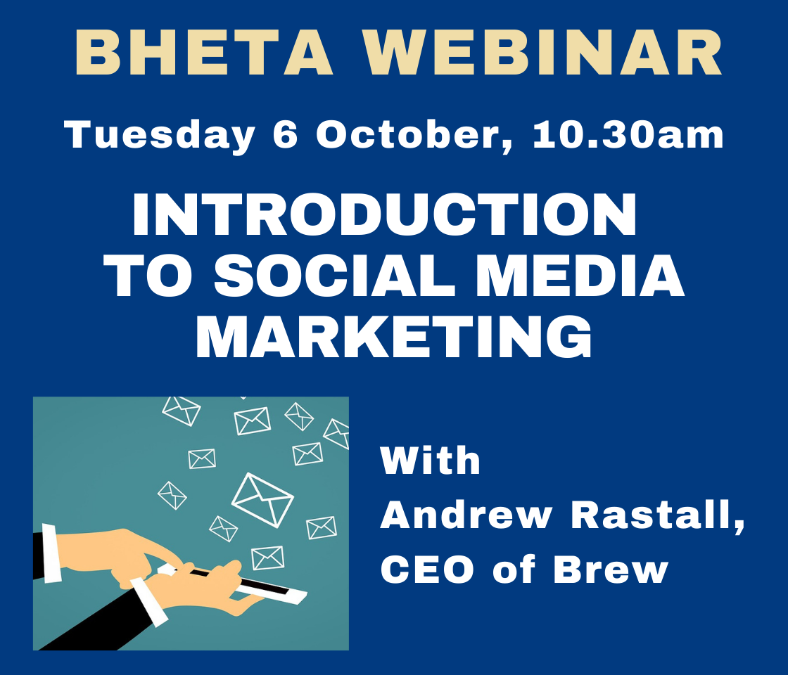 BHETA WEBINAR: Social media marketing