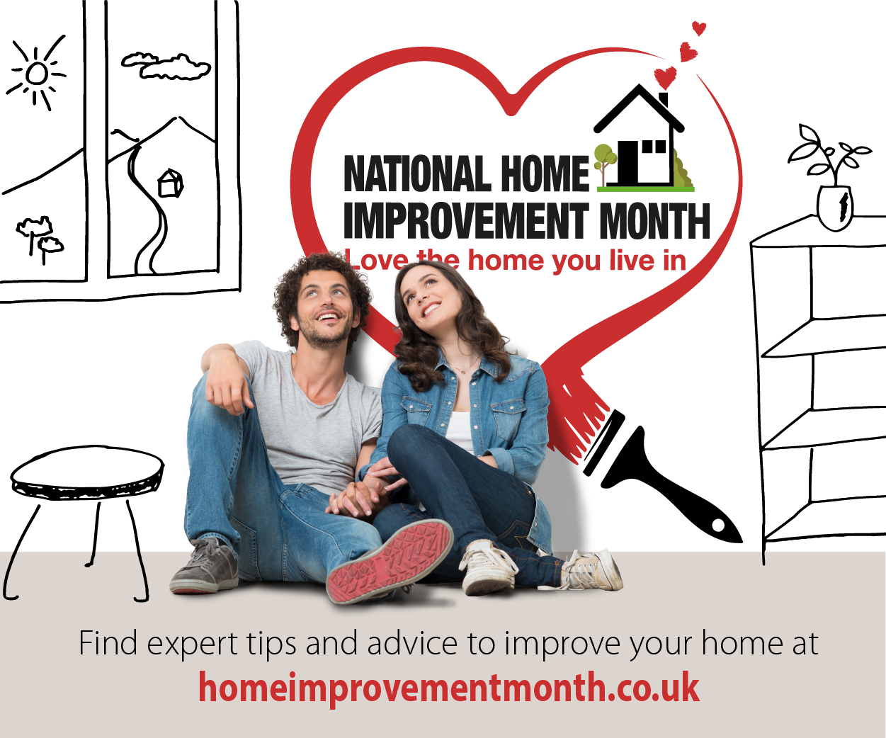 September is National Home Improvement Month