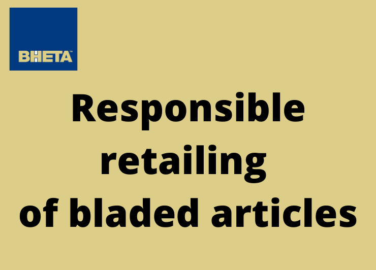 BHETA reconvenes with Met Police on responsible retailing of bladed items