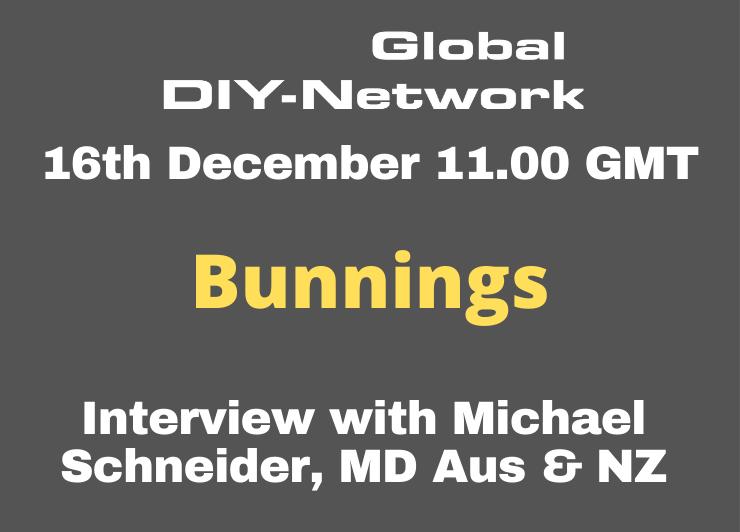 Bunnings interview with Michael Schneider, MD