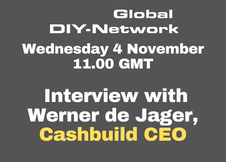 CASHBUILD Interview with Werner de Jager, CEO