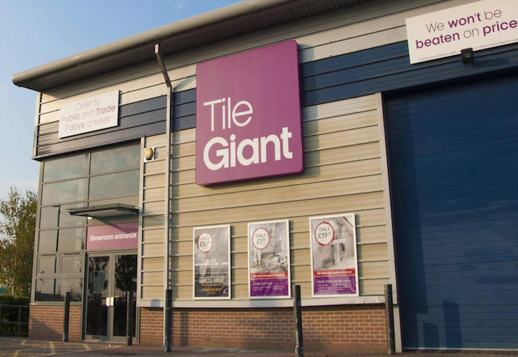 Travis Perkins sells Tile Giant to investment group Coverings Ltd