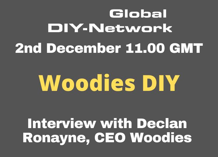 Woodies DIY interview with Declan Ronayne