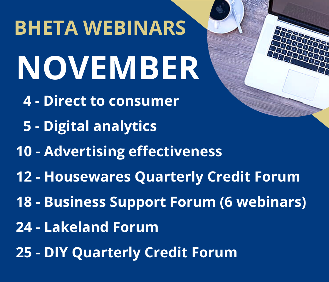 November webinar dates published