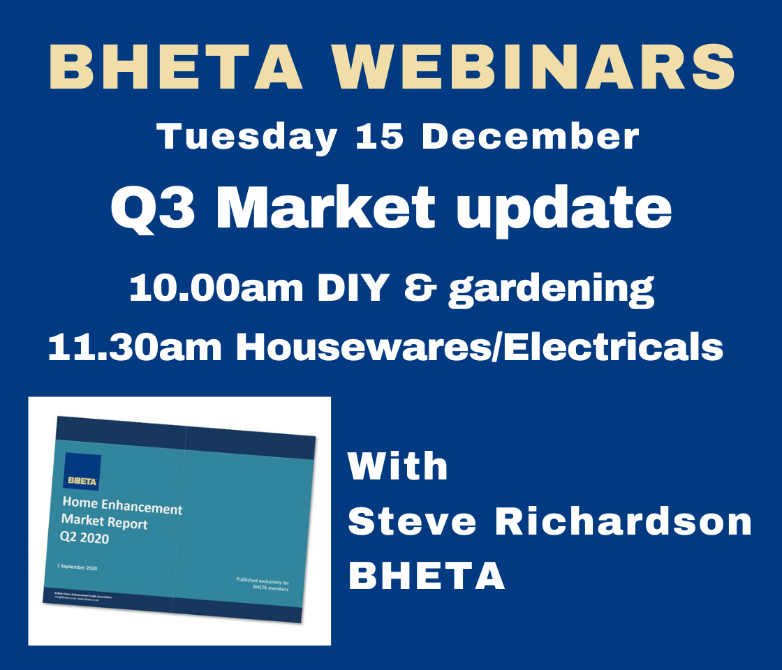 BHETA to hold Q3 market data webinars on 15th December
