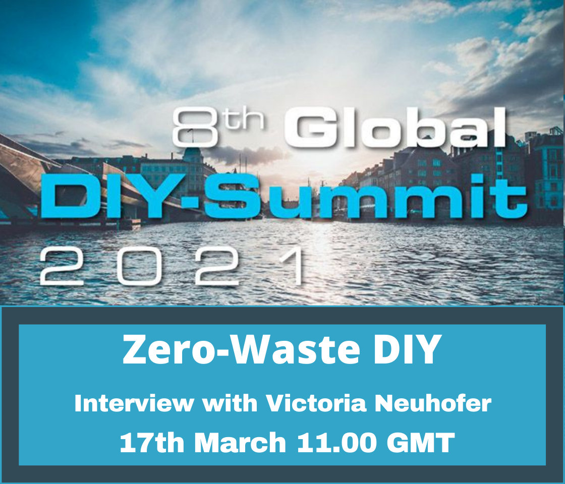 The Global DIY Network webinar – Zero-Waste DIY