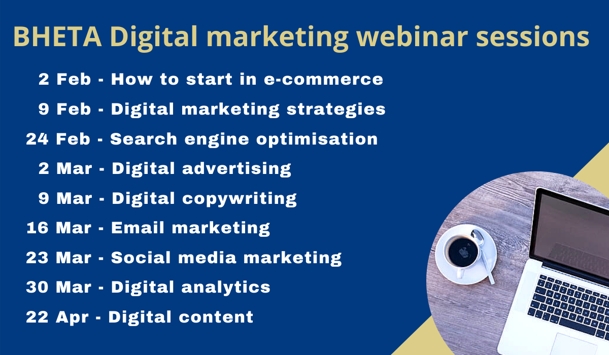 BHETA's digital marketing series is back…