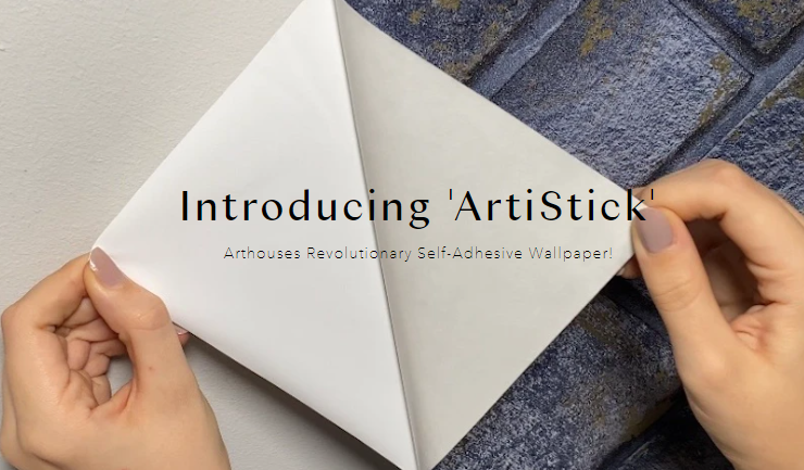 BHETA member news – Arthouse launches ArtiStick, its first self-adhesive wallpaper.