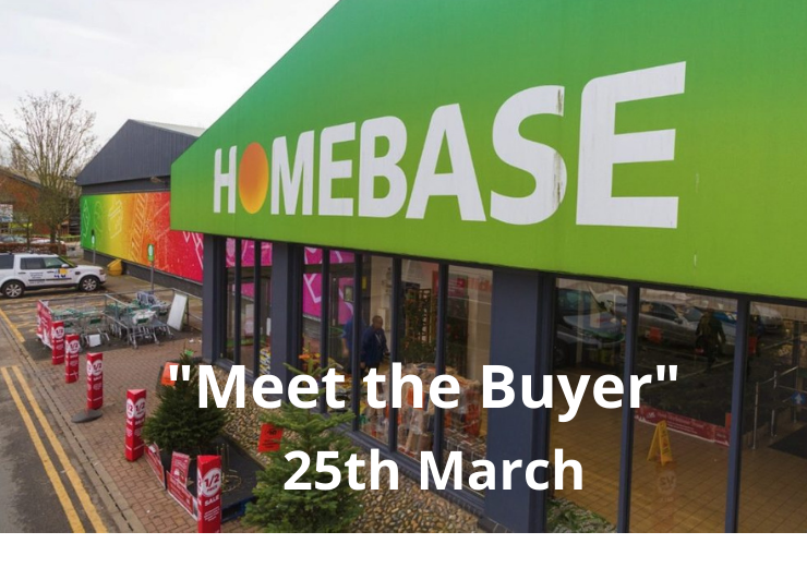 Homebase Meet the Buyer – 25th March 2021