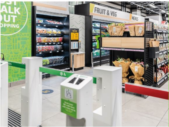First Amazon Fresh shop opens in London