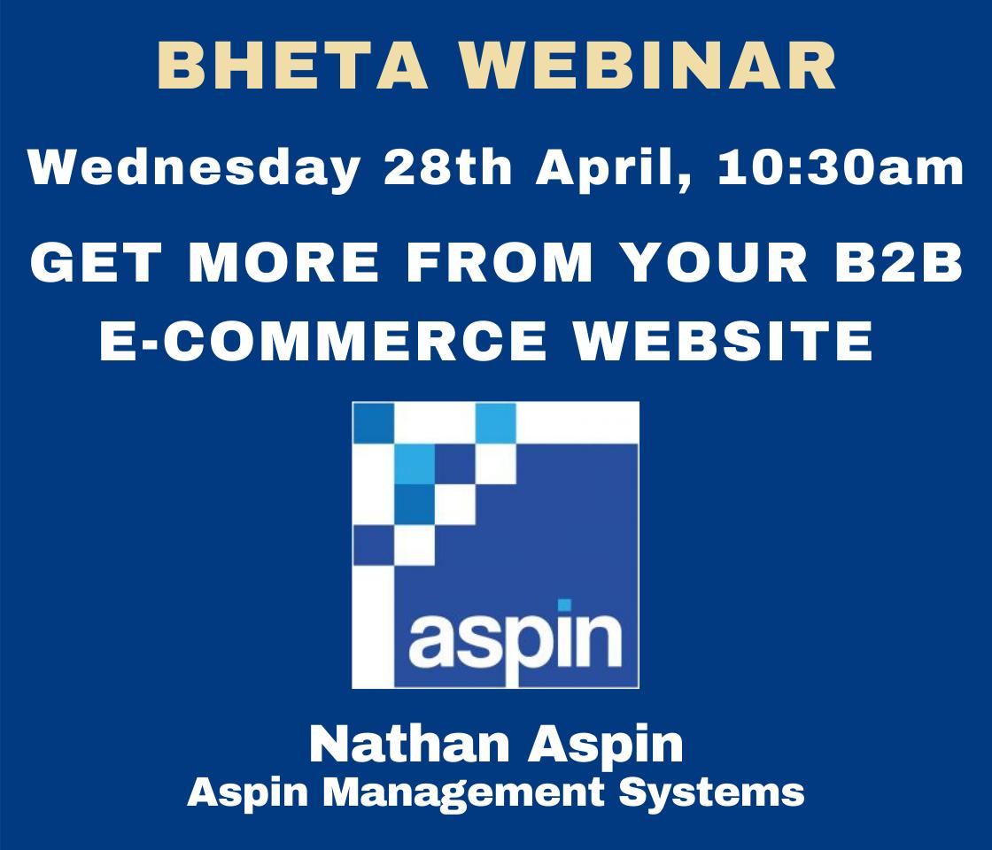 BHETA Webinar – Get more from your B2B e-commerce website