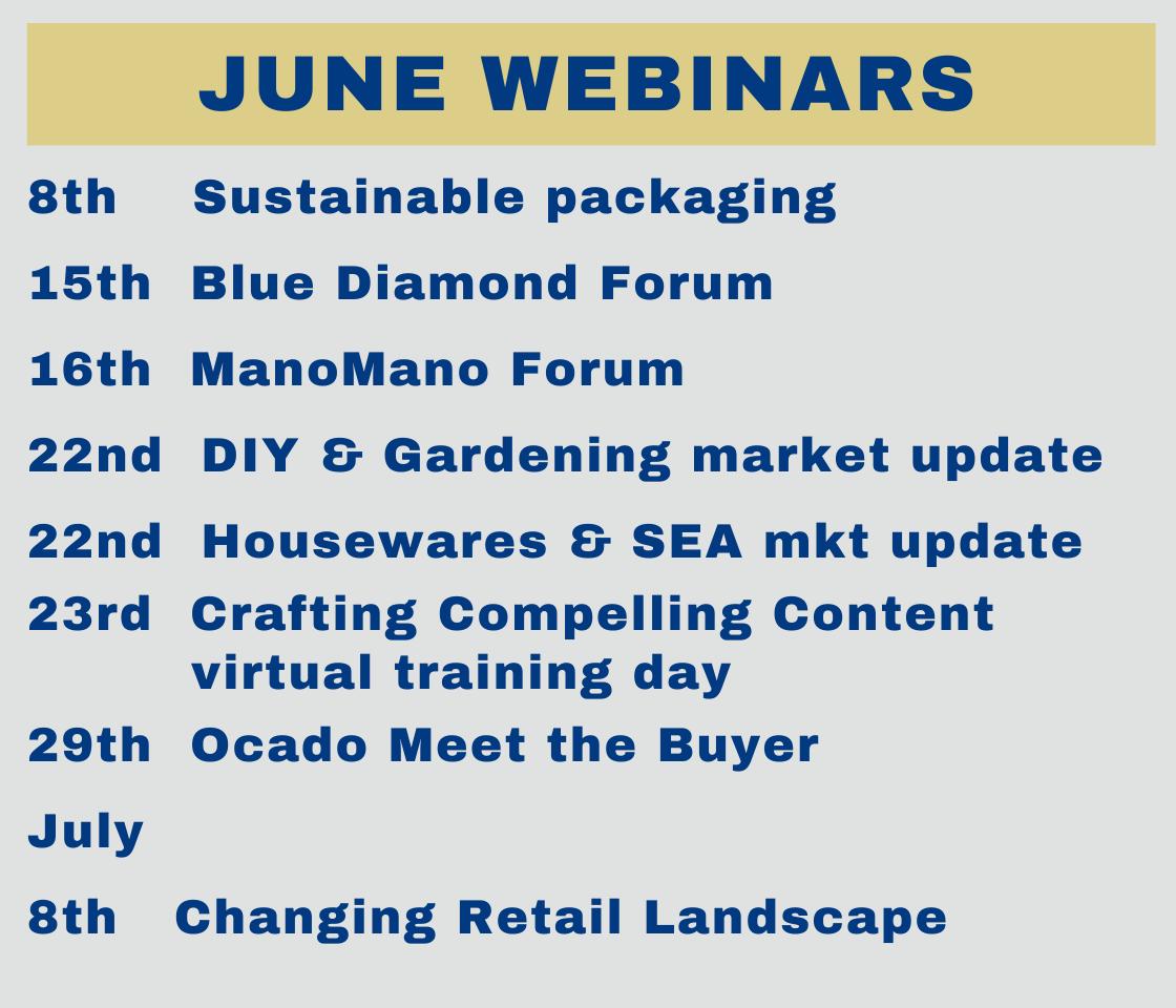 Busy June BHETA webinar programme
