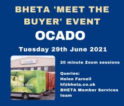 Ocado 'Meet the Buyer' – 29th June 2021