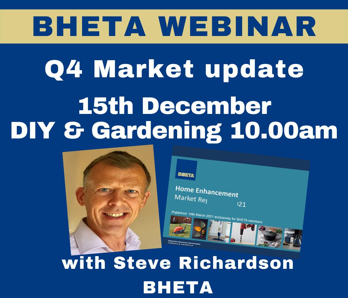 WEBINAR: BHETA Q4 DIY & Gardening market update