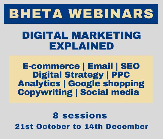 BHETA repeats digital sales and marketing webinar sessions due to member demand