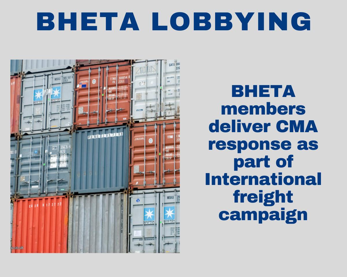 BHETA updates members on CMA response to freight prices